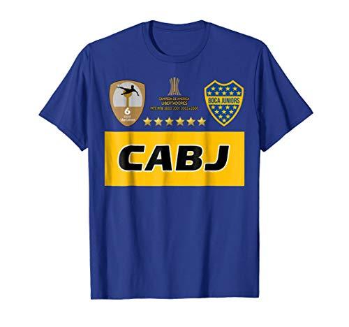 d2c7a48b3 Boca Juniors champion America Libertadores soccer fans shirt