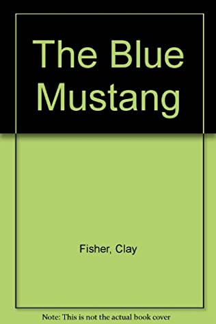 book cover of The Blue Mustang