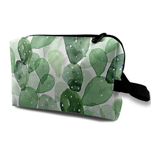 Accessories Case Waterproof Cosmetic For Bags Summer Women's Cactus Travel Toiletry Fabric Bag qcAPp