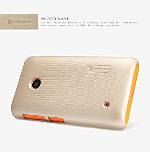 IVSO Nokia Lumia 530 Super Magic High Quality Case-Will only fit Nokia Lumia 530 Smartphone (Gold)
