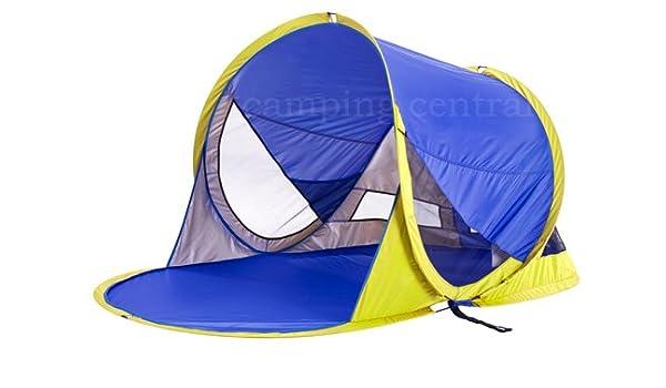 Oztrail Pop Up Flip Out Beach Tent Sun Shade Uv Shelter  sc 1 st  Amazon.com.au & Caribee Rapid Pop Up Beach Tent Sun Shade UV Shelter (Blue ...