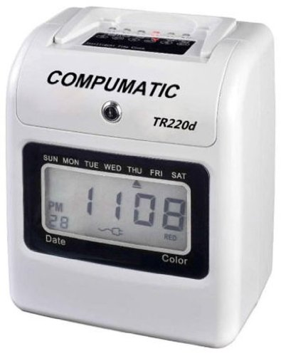 Digital Automatic Time Clock - 5