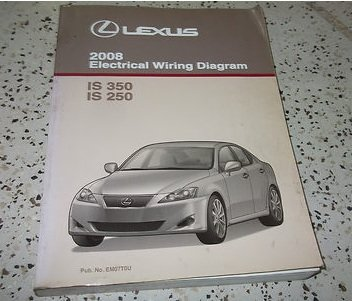 2008 Lexus IS350 IS250 IS 350 250 Electrical Wiring Diagram Service Shop  Manual: lexus: Amazon.com: BooksAmazon.com