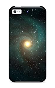 Iphone 4/4s Case Cover - Slim Fit Tpu Protector Shock Absorbent Case (space Art )