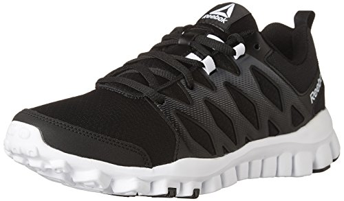 Shoe Train Coal Trainer Reebok Cross 4 White Women's Realflex 0 Black RTqTO0w