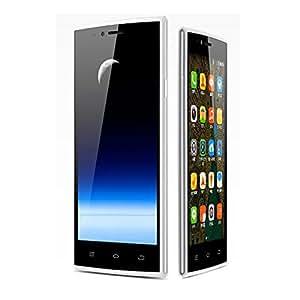 THL T6C 3G Smartphone MTK6580 Cortex A7 Quad Core 1.3GHz 5.0 Pulgada 854 x 480 pixels IPS Pantalla 1GB+8GB Android 5.1 Doble SIM Tarjeta Smartphone libre desbloqueado Blanco