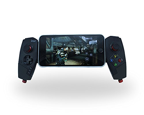 Mobile Game Controller, Mutop Adjustable Wireless Bluetooth Controller Gamepad Bluetooth Joystick Multimedia for Android Phone/Tablet/PC/PS3/Switch - iPega PG-9055