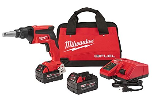 Milwaukee 2866-22 M18 FUEL Drywall Screw Gun- XC Kit with 5.0 Ah Batteries