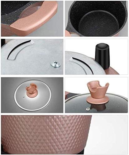 Grills électriques, Poêle électrique 2L - Multi Cooker Poêle multifonction avec surface antiadhésive 700W avec couvercle en verre et poignées Cool Touch