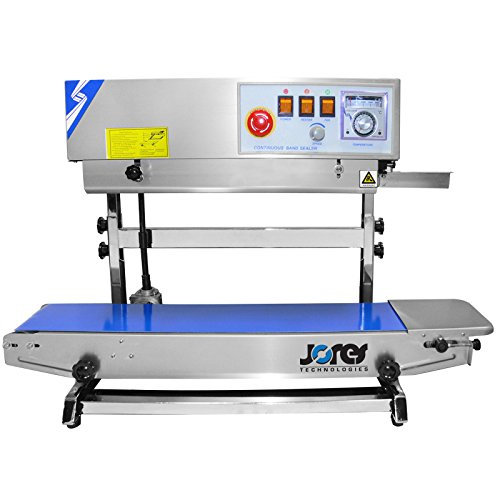JORESTECH Continuous Band Sealer CBS-730I (Stainless Steel) 220 (Analog Wide Band Air)
