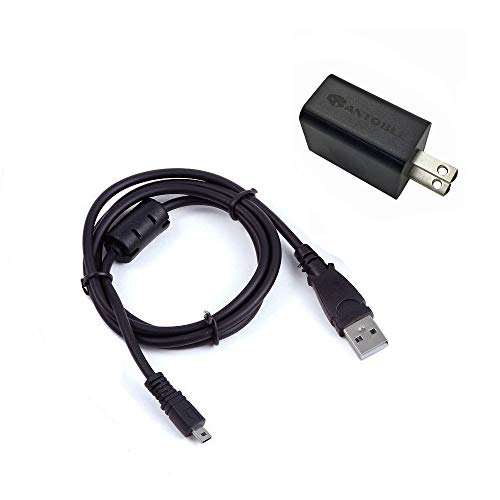 IN-Camera USB AC Power Adapter/Battery Charger + PC Data Sync Cable Cord Lead For Nikon Coolpix S3000 S3100 S3300 S3500