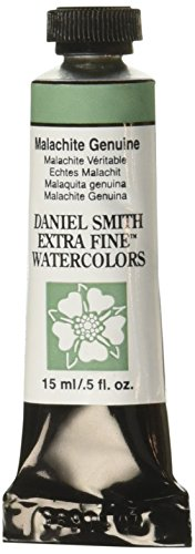DANIEL SMITH Extra Fine Watercolor 15ml Paint Tube, Malachite Genuine