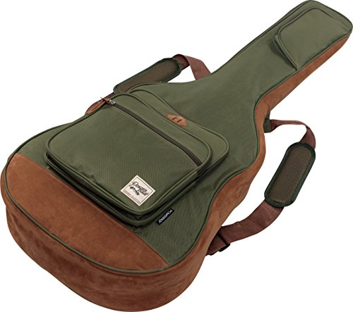 Ibanez IAB541MGN POWERPAD Acoustic Guitar Bag, Moss Green