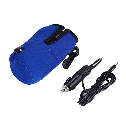 Travel Car Baby Bottle Warmer Milk Warmer Bag,Portable 12V Car Food Water Bottle Heater Warmer,Keep Temperature Bag by GLOGLOW (Image #1)