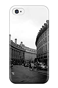 New Arrival Cover Case With Nice Design For Iphone 4/4s- Black And White