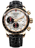 Chopard Jacky Ickx Edition V Chronograph Automatic Silver Dial Mens Watch 161286-5001