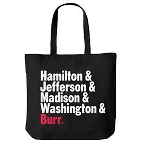 Official Hamilton An American Musical Names Tote Bag