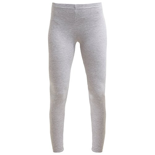 (American Apparel Womens/Ladies Cotton Spandex Jersey Leggings (S) (Heather Gray) )