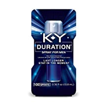 K-Y Duration Male Genital Desensitizer Spray, 0.36 fl Oz., 100 Sprays