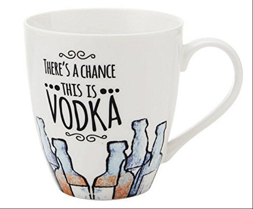 Pfaltzgraff Everyday Theres A Chance This Is Vodka Large Coffee Mug 18 Oz