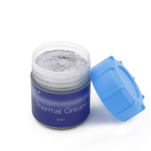 GENNEL 20g Silver Compound Thermal Conductive Grease Paste for CPU GPU Chipset Ovens Cooling