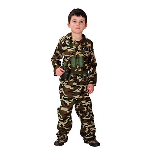 Eshion Kids Halloween Camouflage Military Uniform Boys Cosplay Costume Top + Pants Children Clothes Set (Boys Halloween Clothes)
