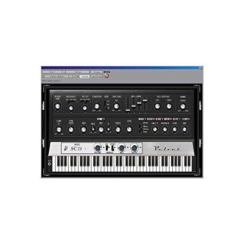 Rhodes Fender Keyboard (Digidesign Velvet - Virtual Electric Piano)
