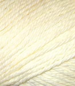 Peaches & Creme Worsted Cotton Yarn (123) Lemon Yellow
