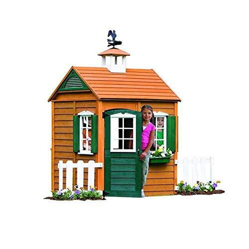 Top 10 Best Luxury Backyard Wooden Playhouse Reviews 2019-2020 cover image