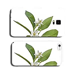 Orange flowers cell phone cover case Samsung S6