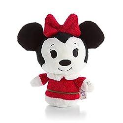 Hallmark Itty Bittys Christmas Minnie Mouse Plush