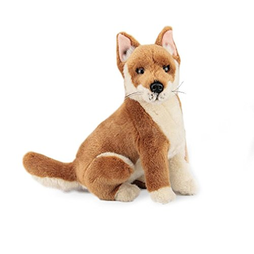 Australian Dingo Stuffed Animal Plush Toy - Byron Medium Tan