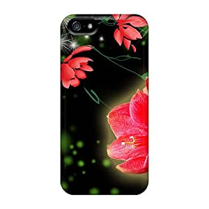 Pauleasy Design High Quality Dark Bright Covers Cases With Excellent Style For Iphone 5/5s