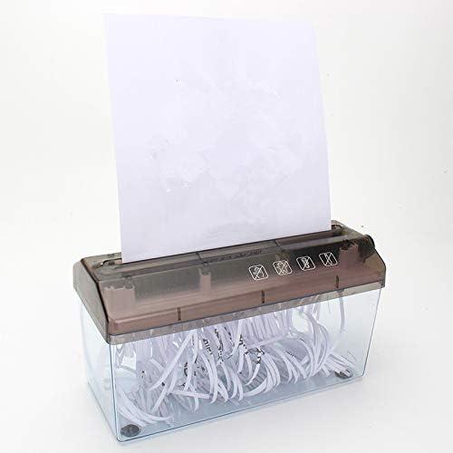 Loouer A4 Paper Shredder Shredded Paper Manual Hand Paper Shredder ...