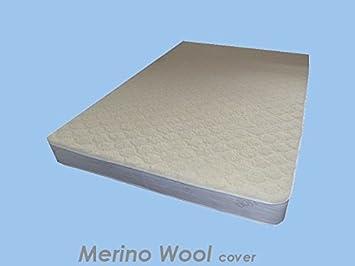 Sleepy Ortho Diamante Lujo colchón - Lana de Merino, Medium-Firm Comodidad, Doble pequeña: Amazon.es: Hogar