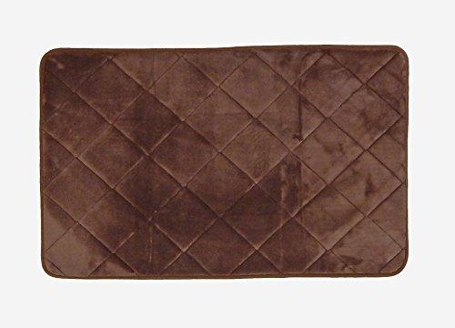 Tappeto memory marrone tappeto bagno create la vostra area