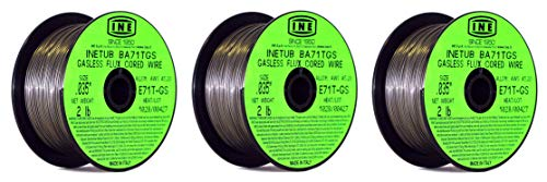 INETUB 030-Inch on 2-Pound Spool Carbon Steel Gasless Flux Cored Welding Wire
