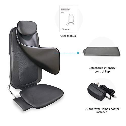 Shiatsu Cushion Heat or Finger Shiatsu Full Back Massage Chair Home Use