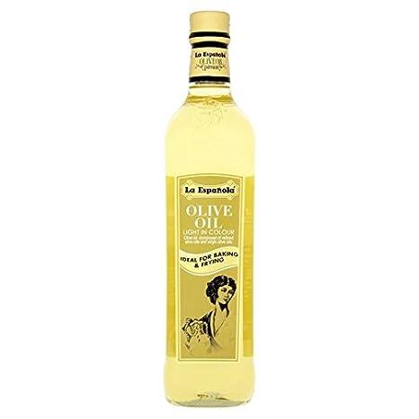 La Española leve y 750 ml de aceite de oliva ligero: Amazon.es: Alimentación y bebidas