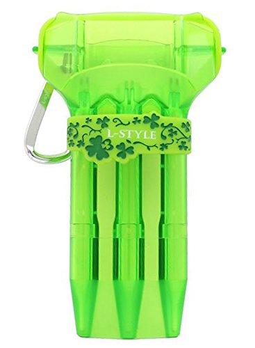 L-style KRYSTAL ONE Dart Case - Green (Case Dart Ultra)