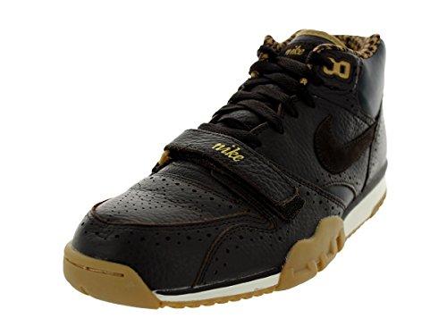 Nike Air Trainer 1 Mid Prm Qs Mens607081 Vlvt Brwn/Vlvt Brwn/Drk Obsdn