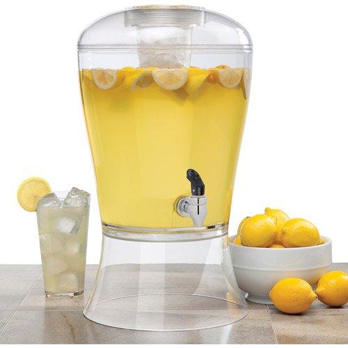Modern Beverage - Creative Bath 3-gallon Beverage Dispenser With Ice Core