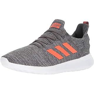 adidas Men's Lite Racer BYD Running Shoe, Grey Five/Solar red/White, 12 M US