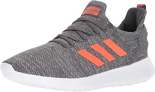 adidas Performance Men's Lite Racer Byd Running Shoe, Grey Five/Solar Red/White, 10 M US