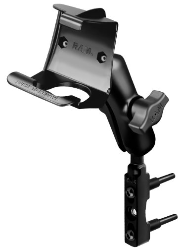 Ram Mount Combo Brake/Clutch Reservoir U-Bolt Mount for Garmin BMW Navigator II/III, StreetPilot 2610/2620/2650/2660/2720/2730/2820 (Black)