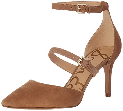 Image of Sam Edelman Women's Thea Dress Pump, Oatmeal, 7.5 M US