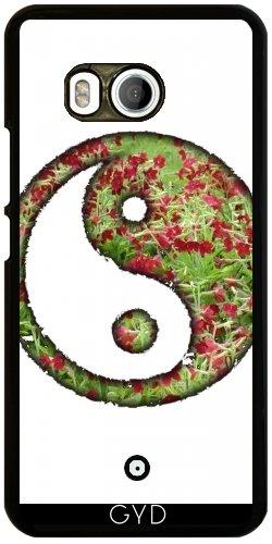 Funda para Htc U11 - Yin Yang Yoga Zen De Buda by WonderfulDreamPicture