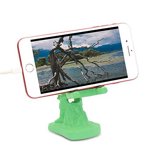 Mobile Phone Bracket Bedside Desktop Creative Soldier Ornaments, Easy to Watch Videos, Browse websites, Video Calls, etc. (Mobile Phone)