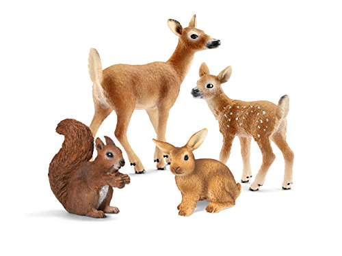 Schleich North America Forest Animal Babies Set (Schleich Squirrel)