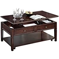 Malachi Lift Top Coffee Table, Walnut Durable and Functional Coffee Table